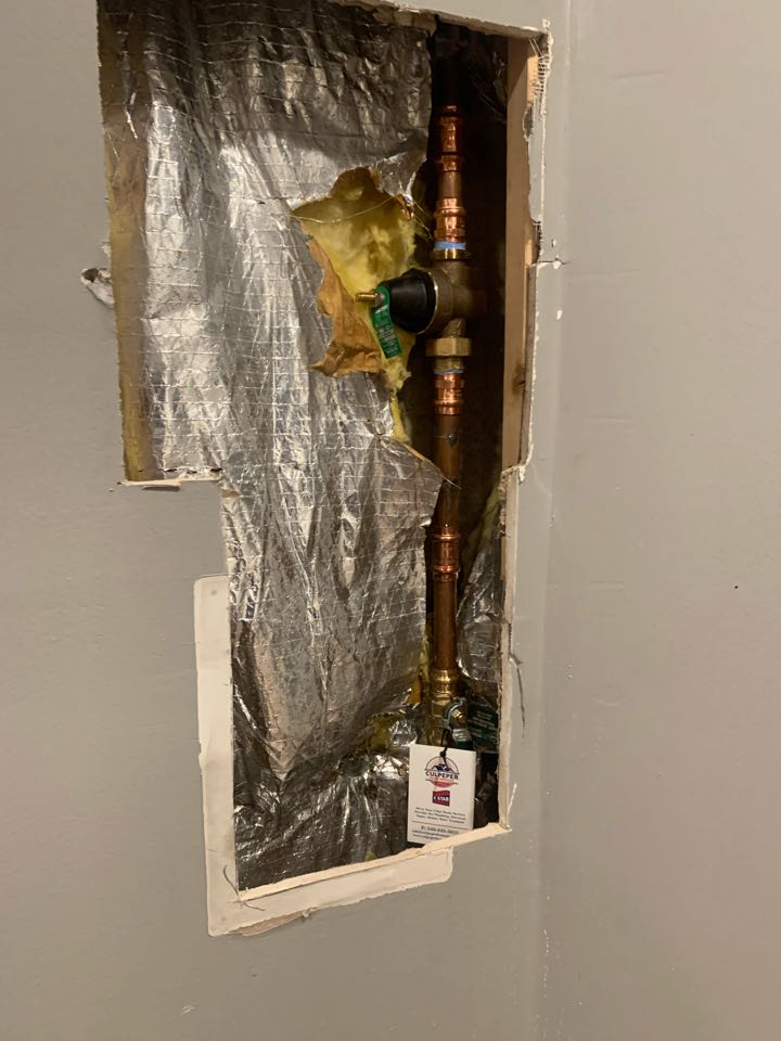 Fredericksburg, VA - Replaced main valve and PRV