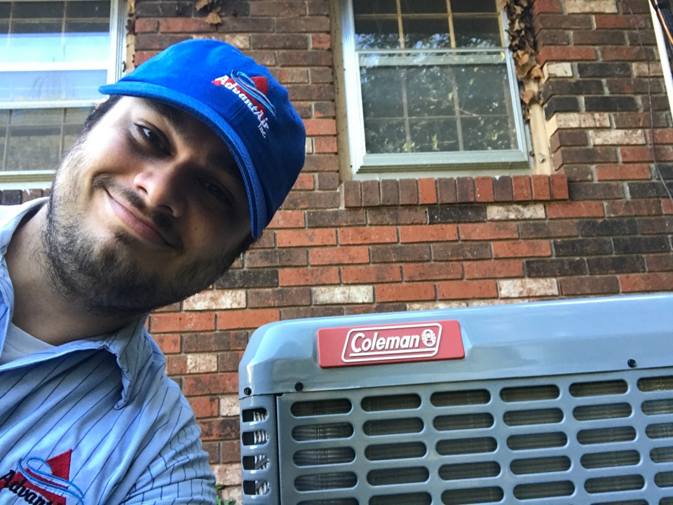Boiling Springs, SC - A new heat pump in boiling springs, and a happy customer! New ductwork as well. We brought this 1970s home into 2020! Welcome to the new millennium, house!