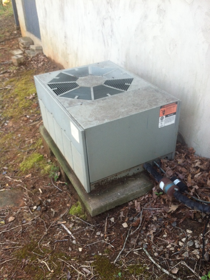 Duncan, SC - Working on ac unit. Not cooling, bad compressor, 91 rudd