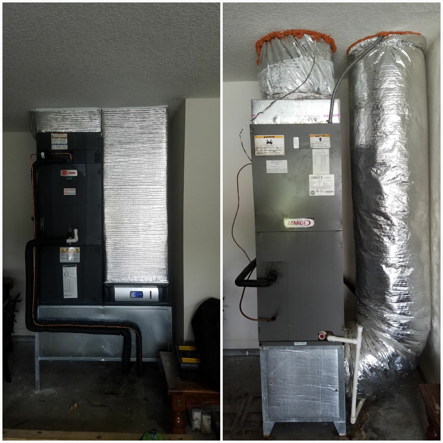 Saint Augustine, FL - Changed out unit in garage installed new platform and ductwork