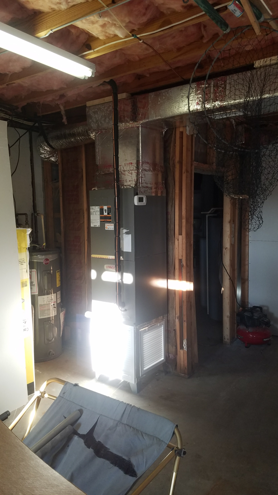 St. Augustine, FL - Installed unit in garage for aircondtioning the garage