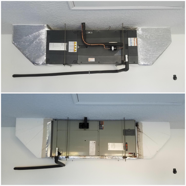 St. Augustine, FL - Changed out trane unit in garage