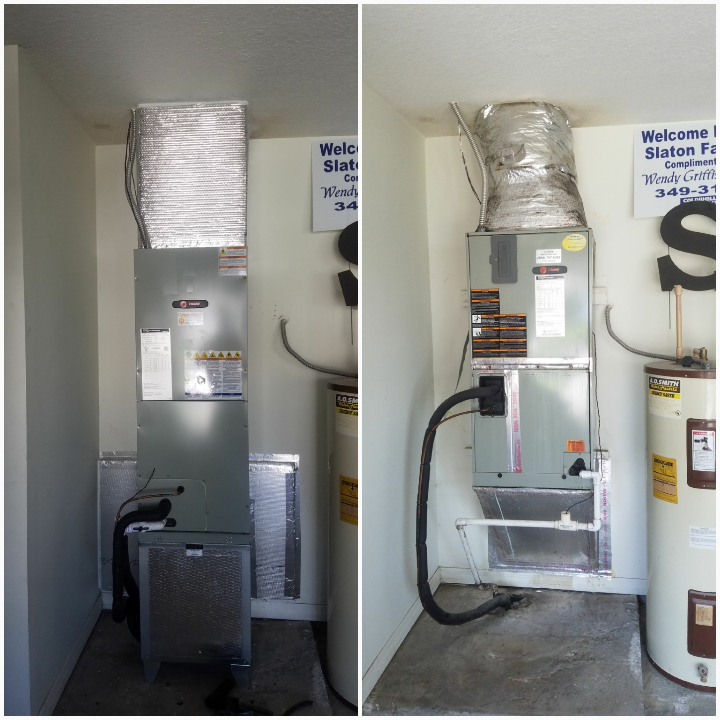 Ponte Vedra Beach, FL - Changed out trane unit in garage