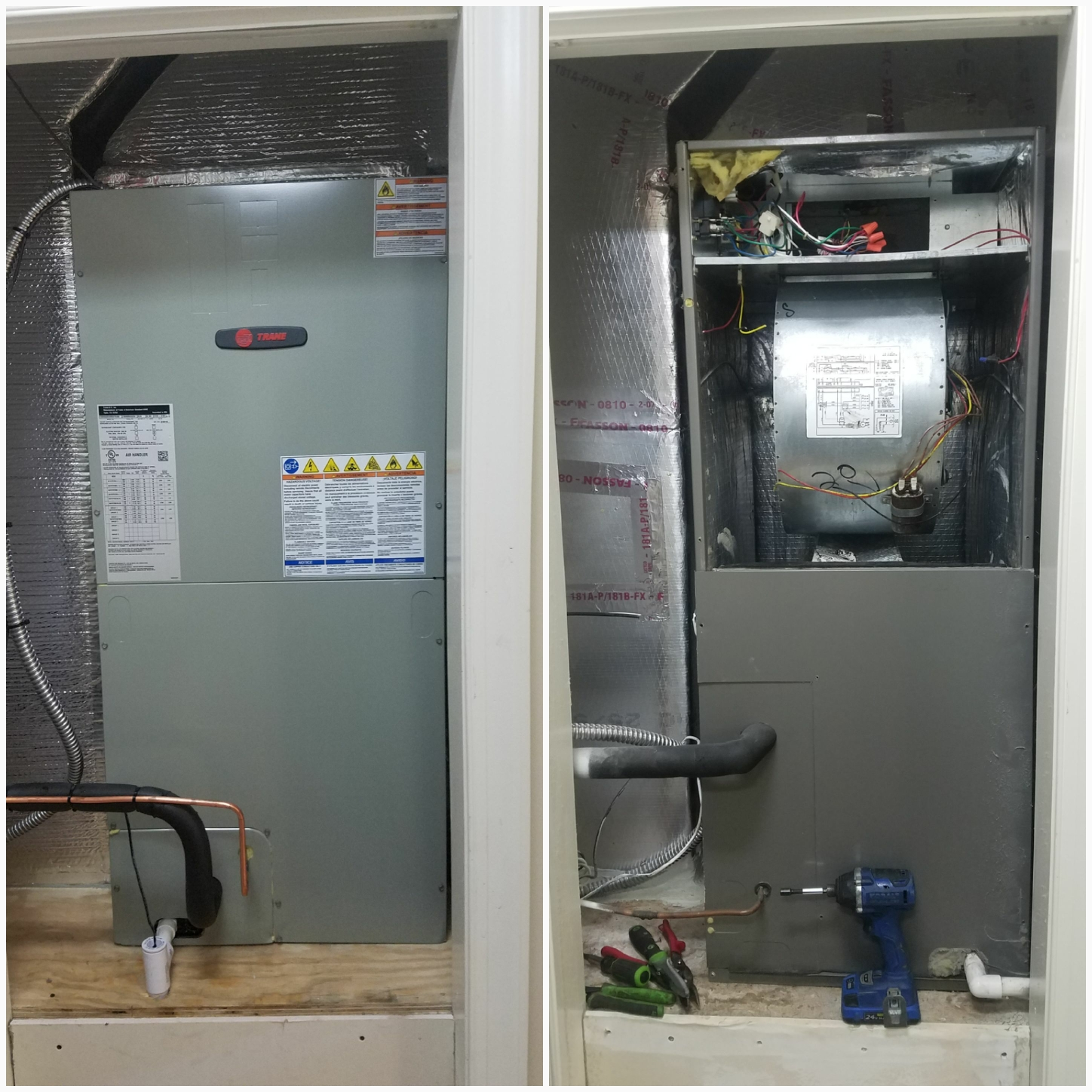 St. Augustine, FL - Took out a lennox and put in a trane