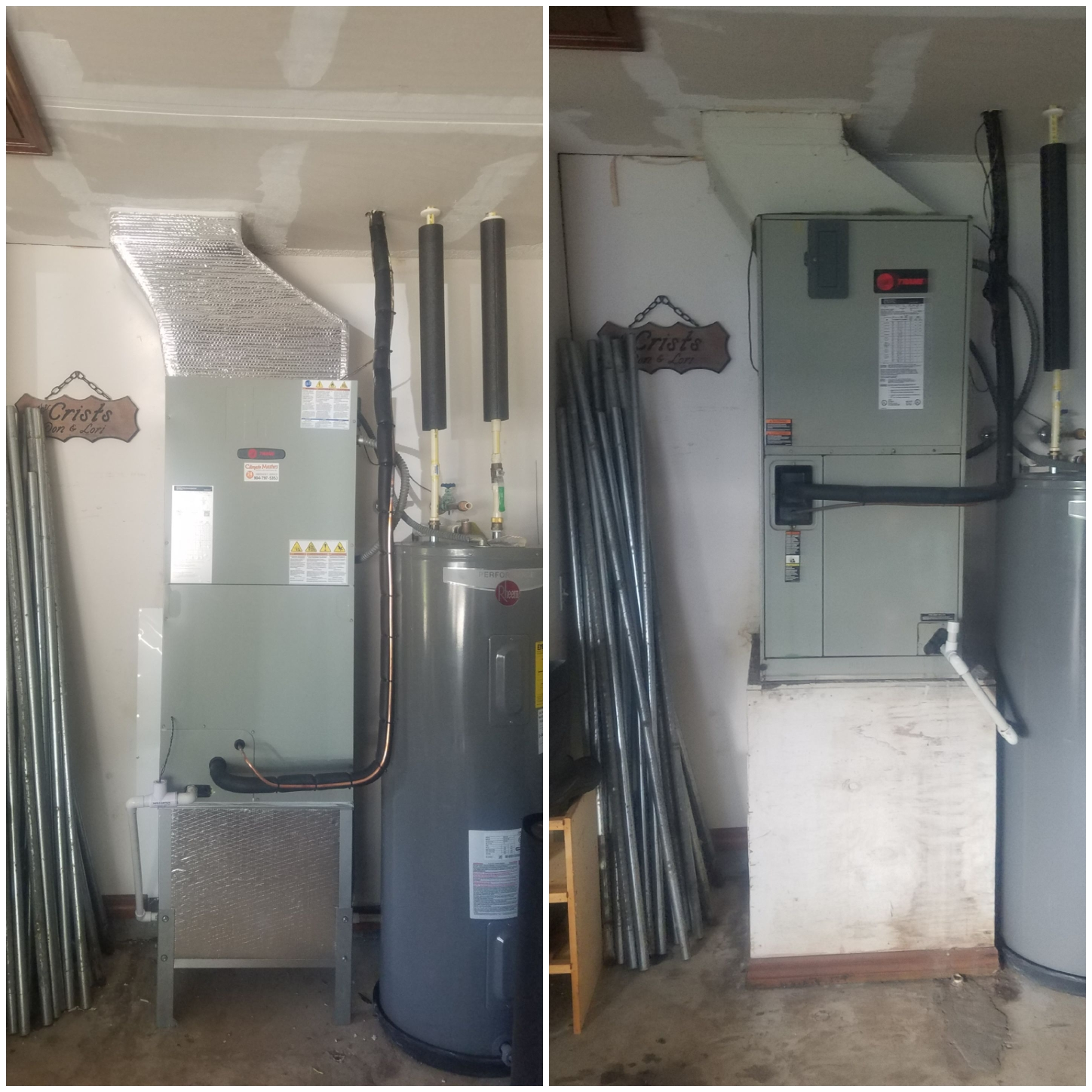 St. Augustine, FL - Changed out trane unit