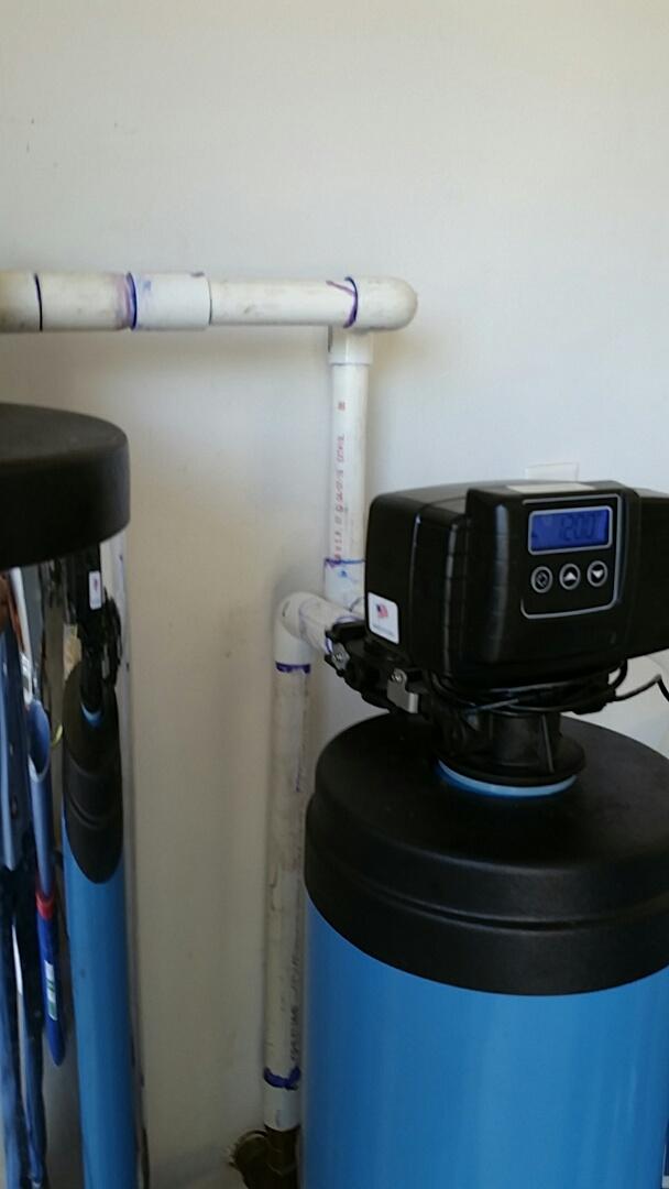 Clovis, CA - Reinstall water softner.