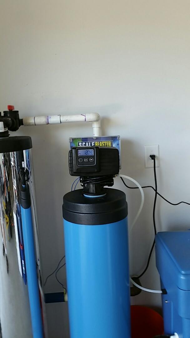 Clovis, CA - Reinstall water softner