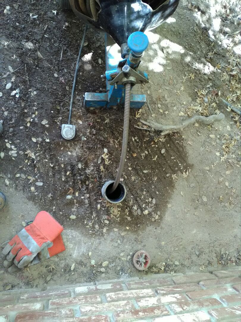 Madera, CA - Cleared main sewer line with snake