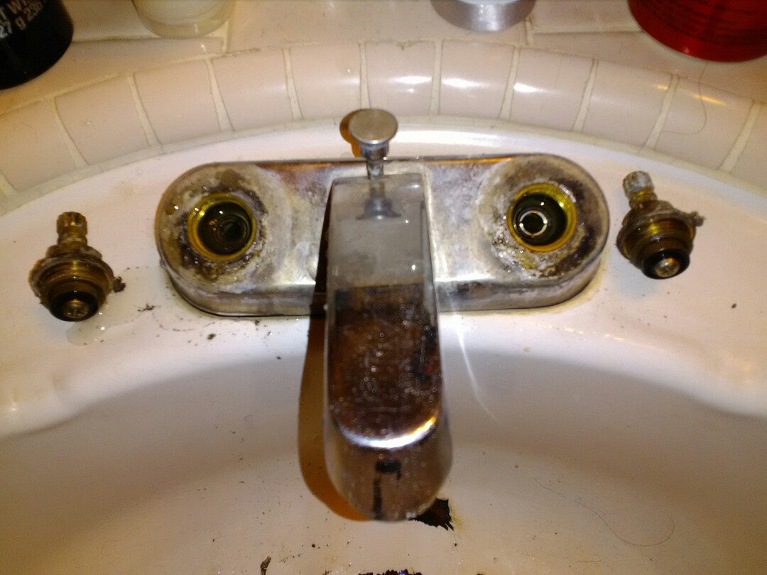 Madera, CA - Fixed two toilets and fixed leak a  lav. Faucet
