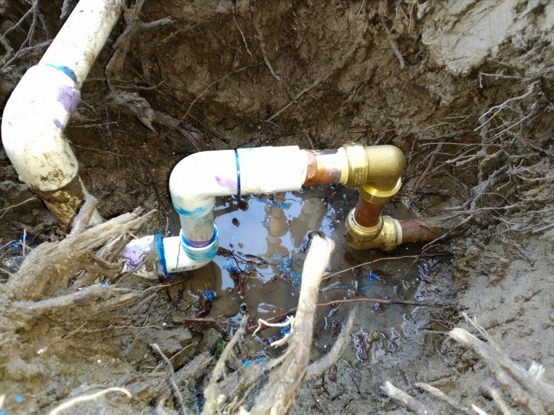 Fresno, CA - Fixed main water line