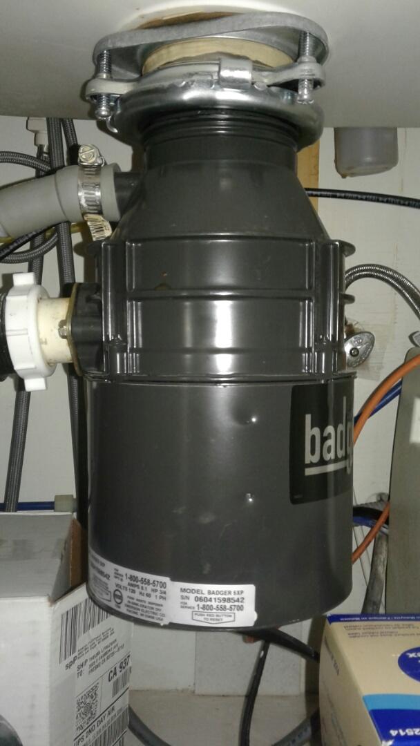 Fresno, CA - Unjammed garbage disposal