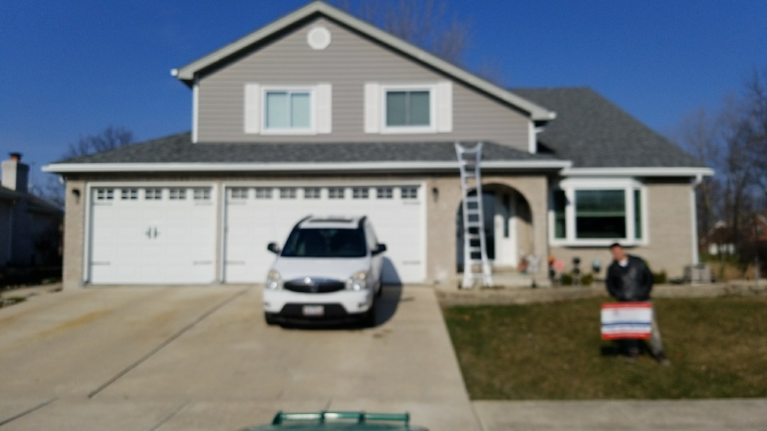 Lemont, IL - Liberty mutual and ARG just made this Home Owner very HAPPY.