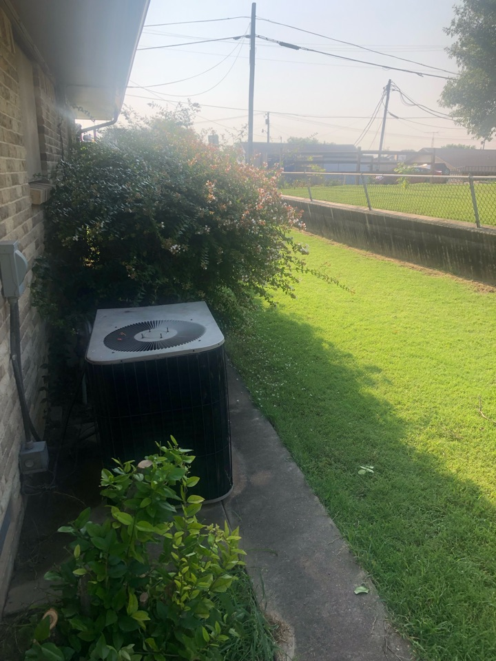 Rockwall, TX - Another happy customer. Minor repair and cooling again.