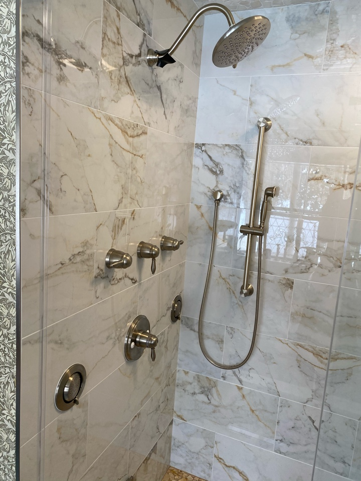 Newfield, NJ - Installation of shower