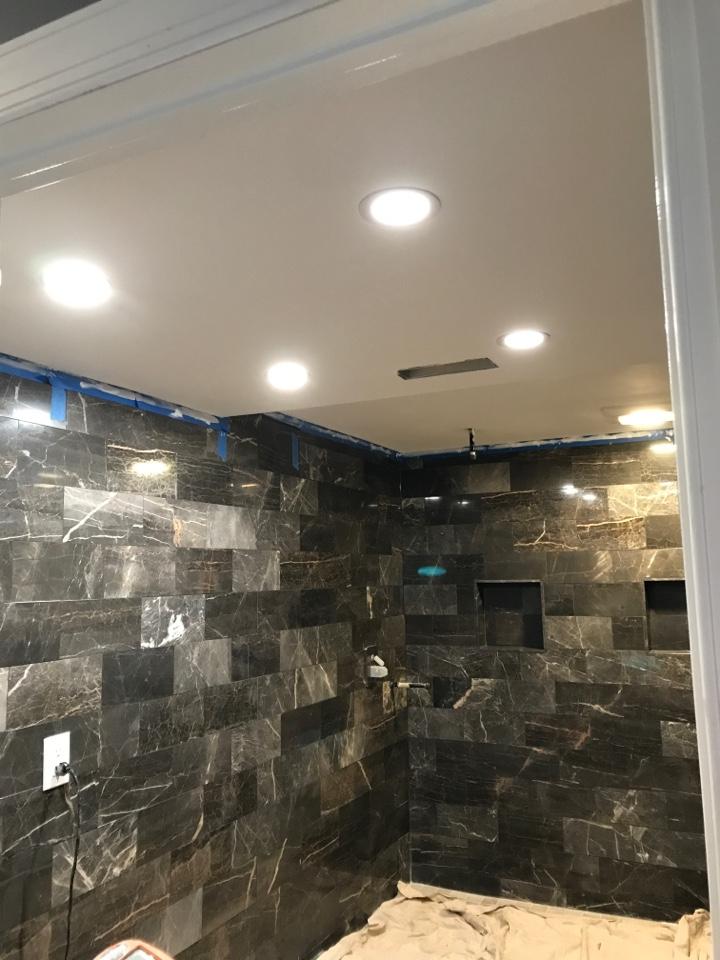 Logan Township, NJ - Recessed lighting