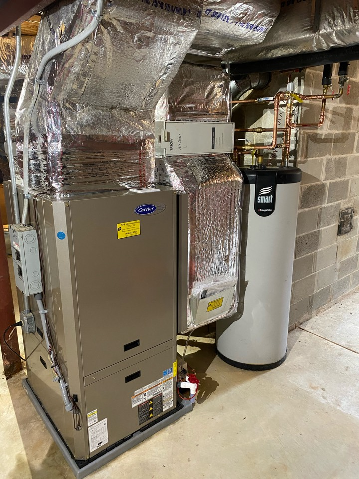 Elmer, NJ - Installation of Geothermal system with de-superheater