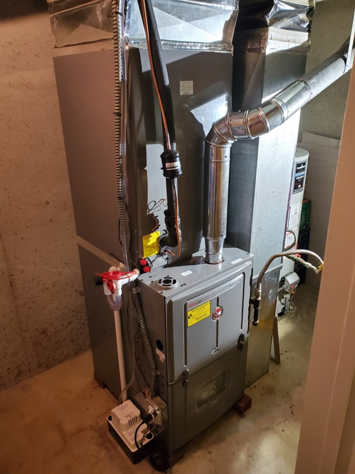 Burlington, NJ - New Furnace and Air conditioning system