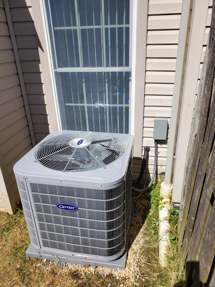 Logan Township, NJ - Replaced furnace and air conditioning system