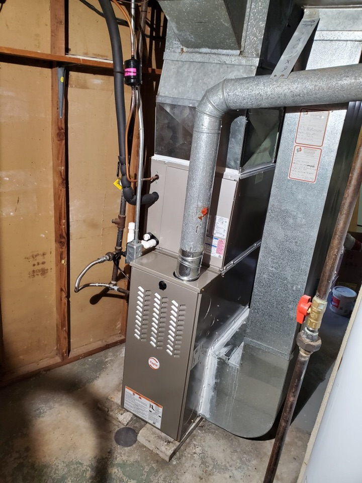 Glassboro, NJ - Replaced complete heat and A/C system