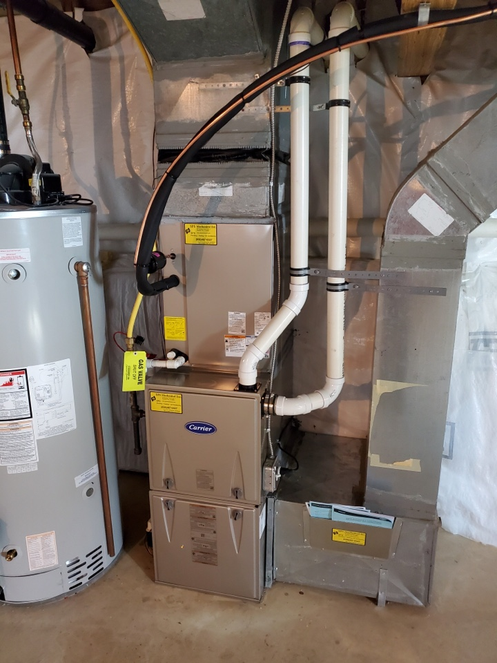 West Deptford, NJ - Replaced furnace and air conditioning system