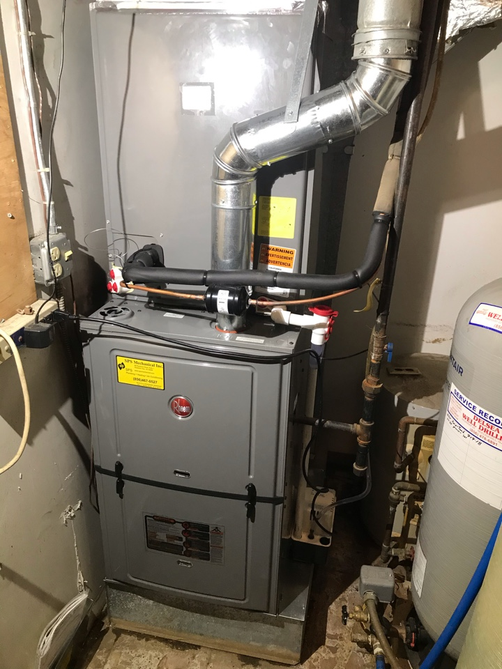 Swedesboro, NJ - Replaced Furnace and air conditioning system
