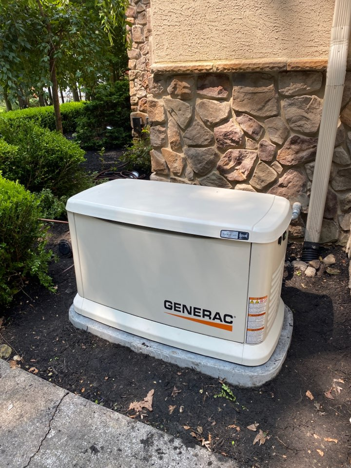 Mullica Hill, NJ - Installed Generac whole house generator