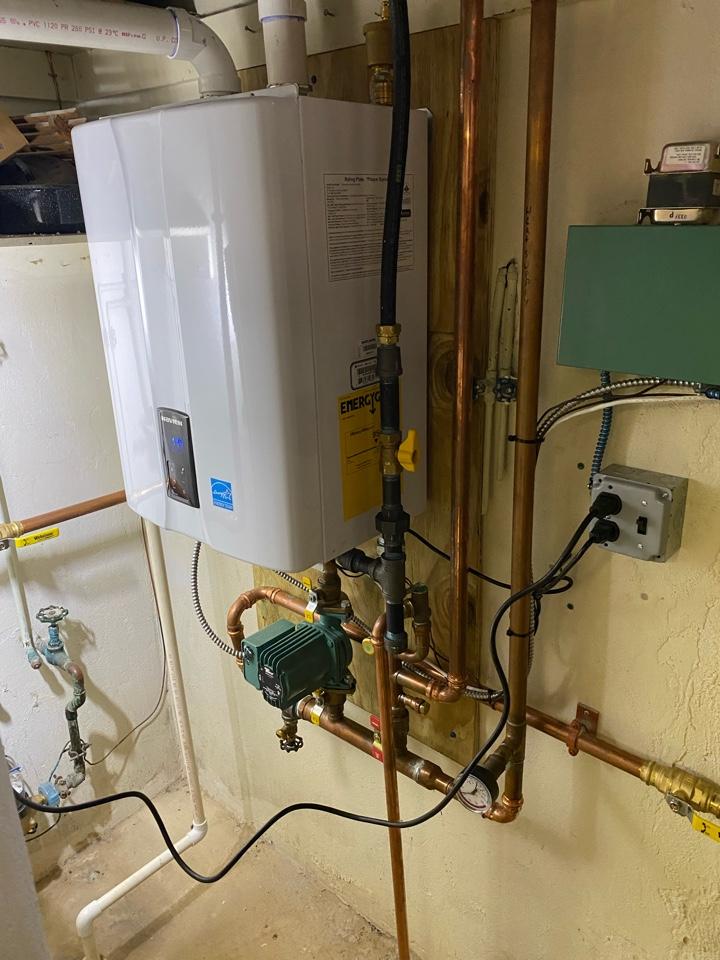 Wilmington, DE - Service Navien boiler