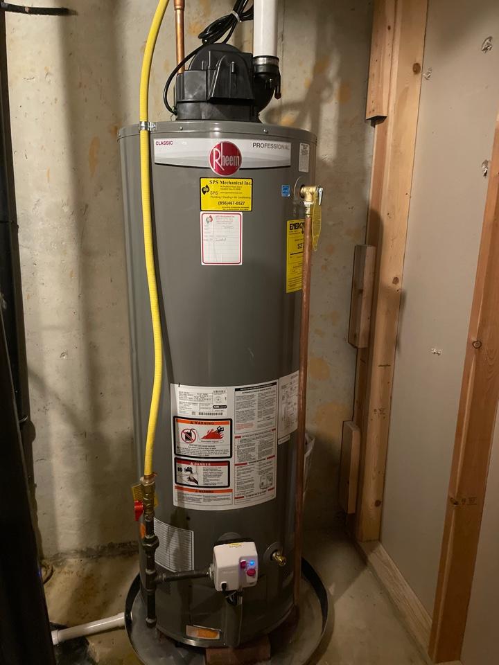 Swedesboro, NJ - Water heater install