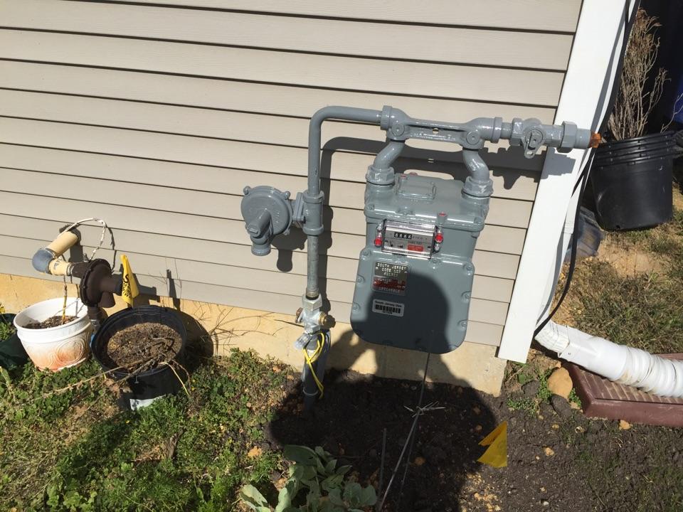 Pennsville, NJ - Installing NG Gas boiler in Pennsville