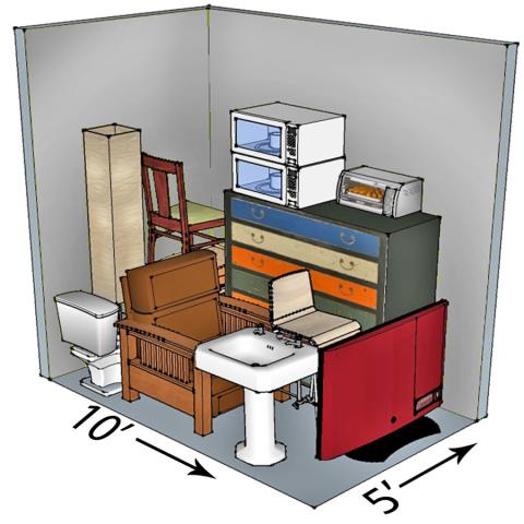 Big or small, we rent them all! Whether you need to store a few boxes, or an entire household we have the space to fit your needs. Stop by, or call in today to reserve your unit. Thank you for the business!