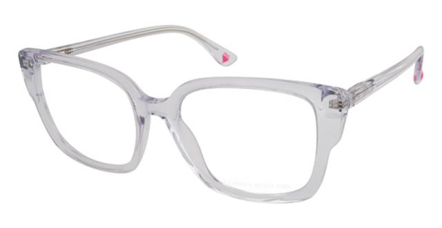 Gulf Breeze, FL - Patient came in for a routine eye exam with our Optometrist today. She got a Victoria's Secret designer frame in a beautiful clear color with a shiny finished. She paired that designer frame with thinner, lighter, impact resistant polycarbonate lenses. We also added an anti reflective coating to help with her night time driving and star burst affect from on coming traffic. Also she got a second pair today in a gold color that was also a Victoria's Secret designer frame. We also pair that designer frame with those thinner lighter polycarbonate lenses and the anti reflective coating.