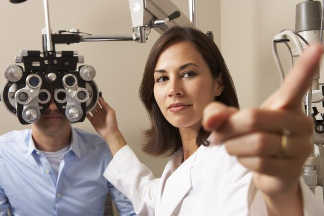 We'll run a series of eyesight tests to assess all the movements of your eyes, and do an overall evaluation of your eye health.