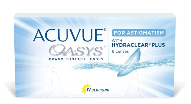 Molino, FL - Previous patient came in today to order a new 6 month supply of her Acuvue Oasys for astigmatism contact lenses!