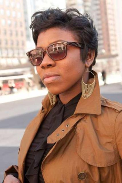 Summerdale, AL - Designer Ray Ban frames with polarized HD progressive lens. She likes style and function at a great price.