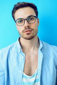 New Patient came in for a full comprehensive eye exam. He needed his very first pair of eyeglasses. He purchased a designer frame with polycarbonate lenses and anti reflective treatment. He used his vision insurance to help pay for them.