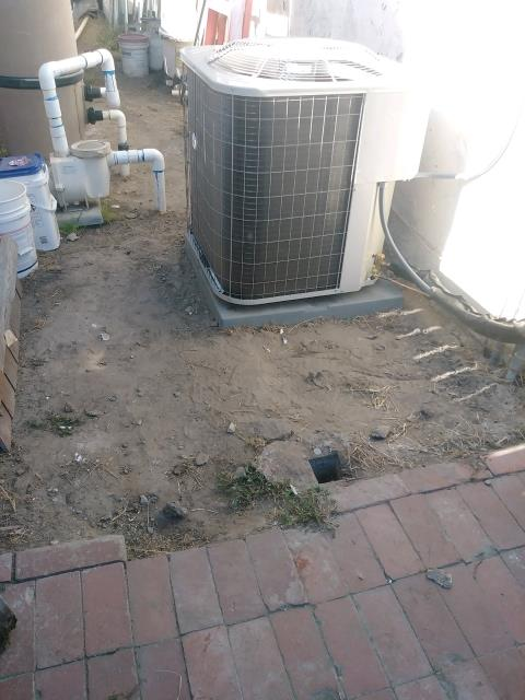 Buena Park, CA - Installed new condenser, coil, flex ducts and deluxe grills