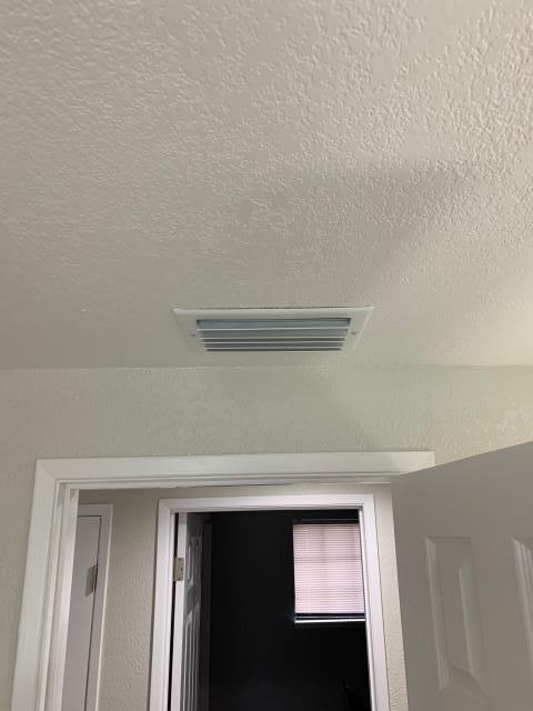 Whittier, CA - Removed Asbestos ducts.  Replaced with all new flex type ducts R-8, fittings, sealer, balancing dampers, added new supply ducts and grills, added new return duct and grill and all new deluxe supply and return grills.