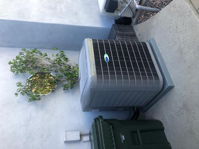 Walnut, CA - New Carrier  4 ton18+SEER variable speed condenser, new Carrier 60,000 BTU ULTRA LOW NOx variable speed furnace, new Carrier high efficiency evaporator coil, Infinity control thermostat, all new ducts, all new grills, city permits, HERS testing, $1,250 Carrier rebate, $300 Tax Credit.