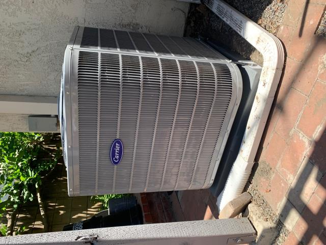 Cerritos, CA - No cooling.  New Carrier two speed condenser 17+SEER, new Carrier variable speed furnace, new Carrier evaporator coil, new ducts, new grills