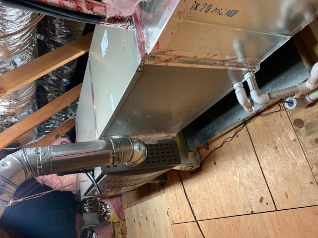 Fullerton, CA - move furnace to attic, new ducts, new grills, add return grills, add return ducts, new coil