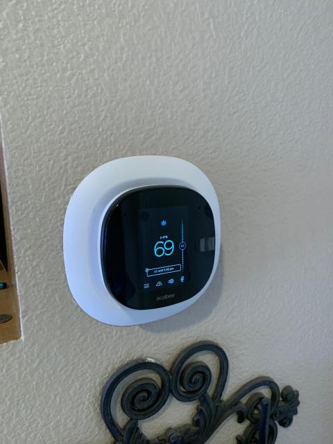 Orange, CA - Add return air grills, new Ecobee 5 smart thermostat, Remote room sensors, new ducts, new grills, no heat, not cooling