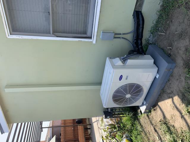 Anaheim, CA - install Carrier ductless split system, install mini split system, install air purifier