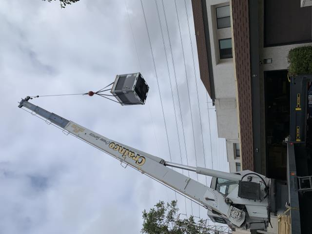 Anaheim, CA - installation of new hvac package unit, new Carrier 4 ton gas/electric rooftop package unit, new ac, new heater,