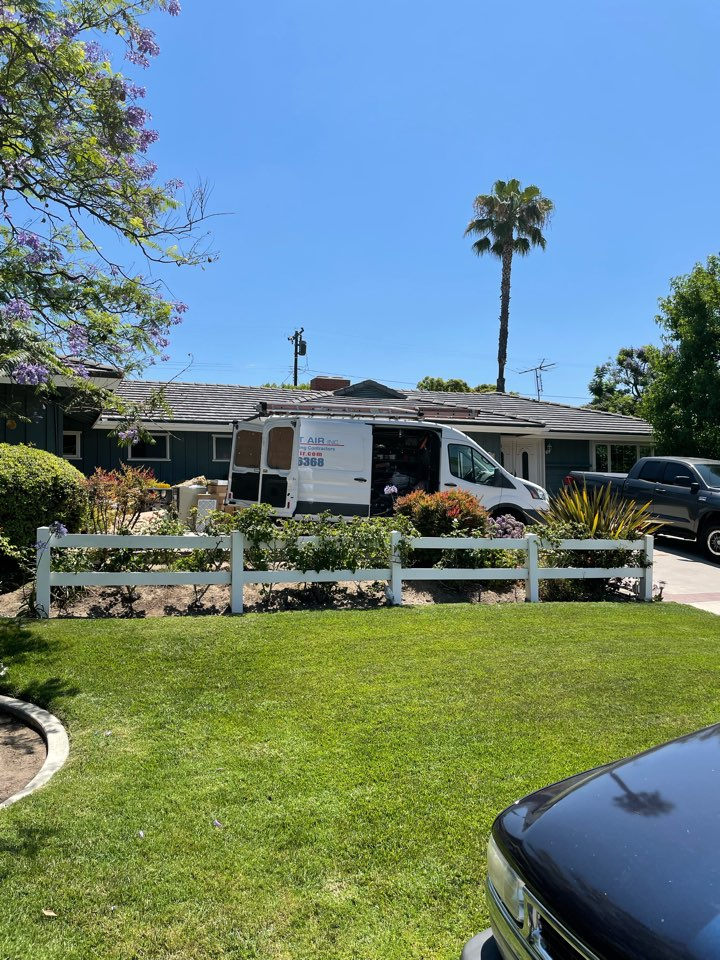 Fullerton, CA - No ac, no air conditioning, add air conditioning, new AC, new ducts, new grills, estimate for new AC.