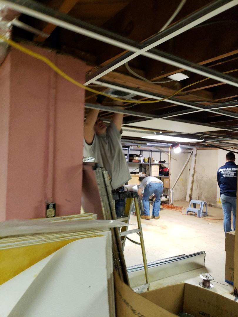 Installing flex for new system in Linden, NJ