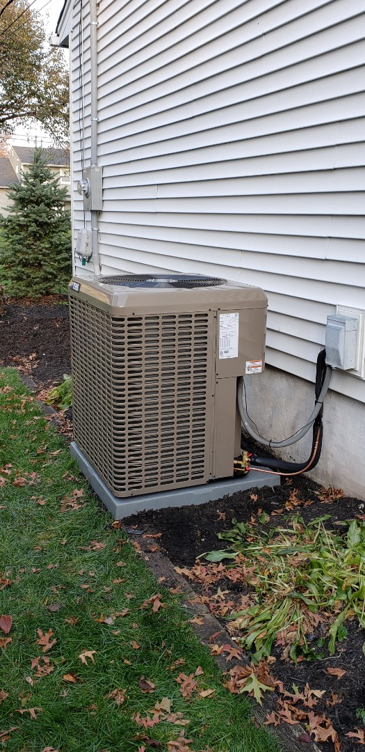Clark, NJ - Condenser coil and furnace installed today in clark