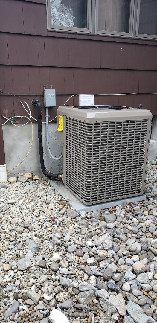 East Brunswick, NJ - Condenser coil and furnace installed today in East Brunswick NJ