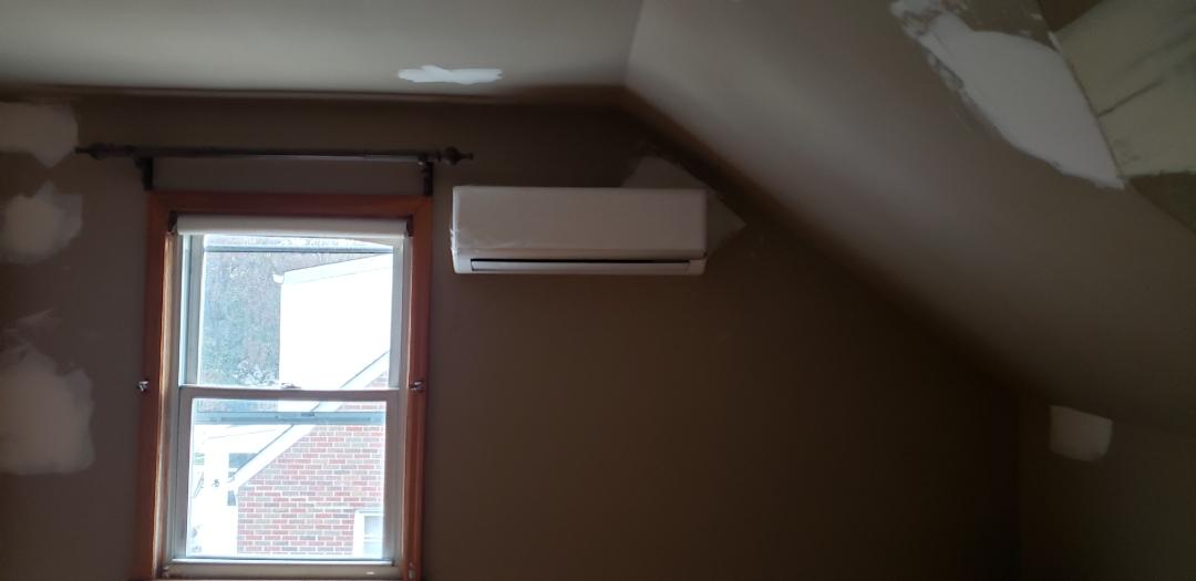 Linden, NJ - Indoor wall unit mini split system installation Linden, NJ