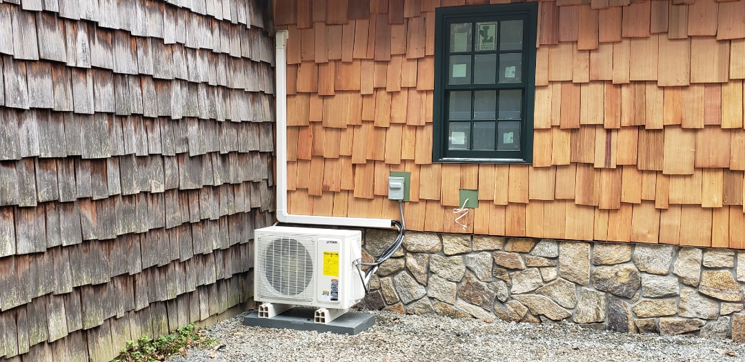 Watchung, NJ - Mini split system finished in watchung