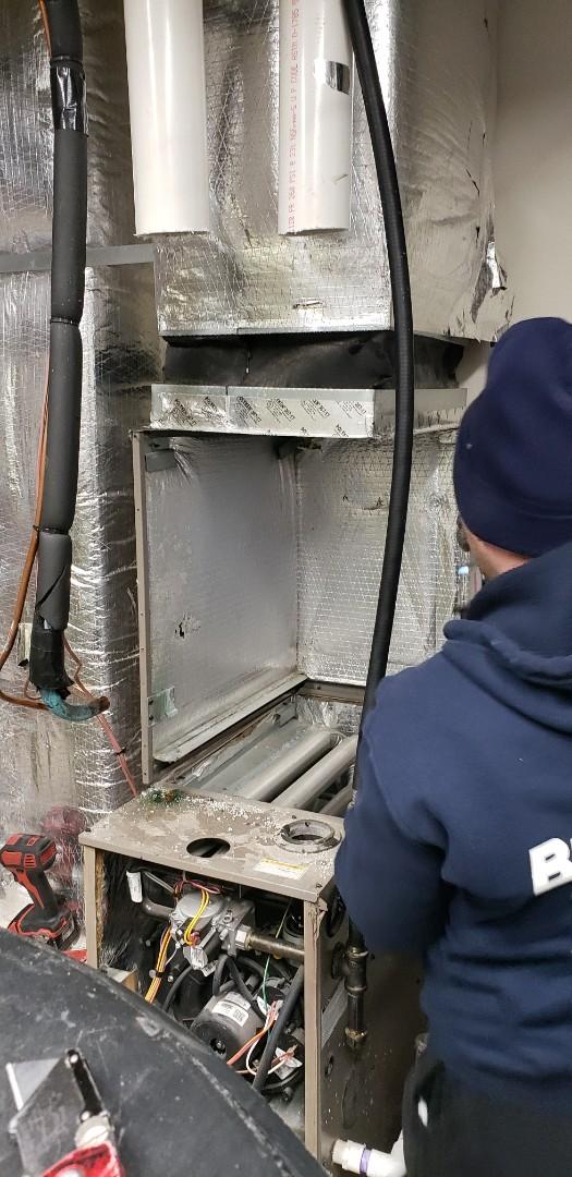 Rahway, NJ - Replacing coil Rahway NJ